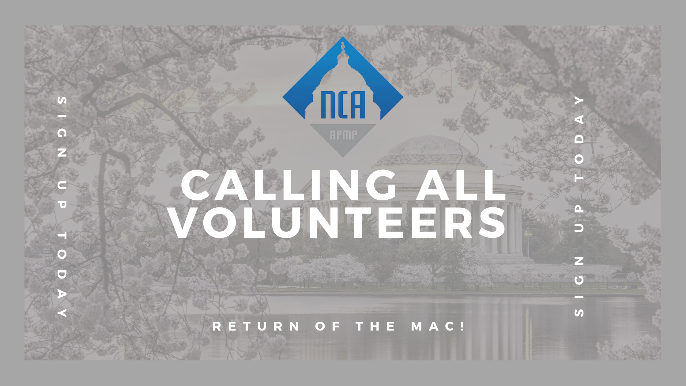 Call for Volunteers – APMP MAC