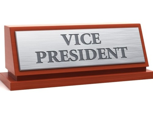From the Desk of the Vice President