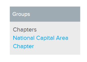National Capital Area Chapter